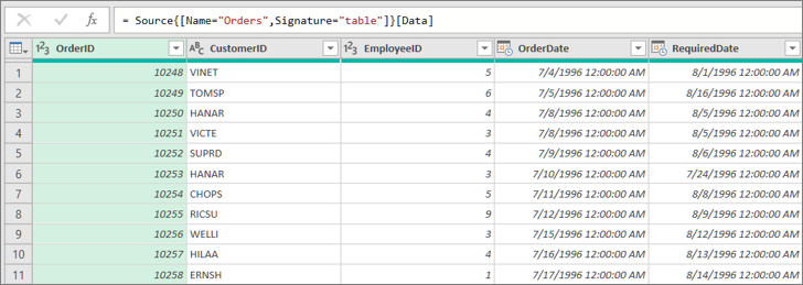 Aggregate data from a column (Power Query) - Excel
