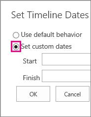 MT07 - Custom Dates