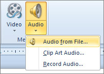 Add or delete audio in your PowerPoint presentation - Office Support