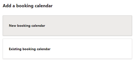 Add a booking calendar