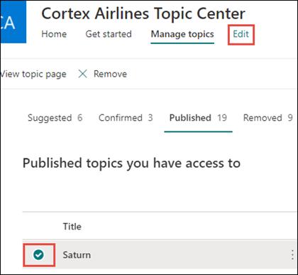 manage topics edit