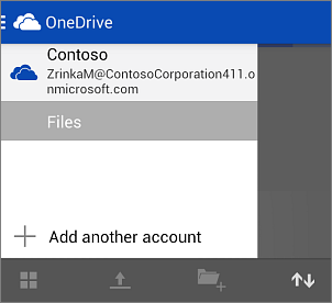 Office 365 account in OneDrive for Business