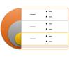 Target List SmartArt graphic layout