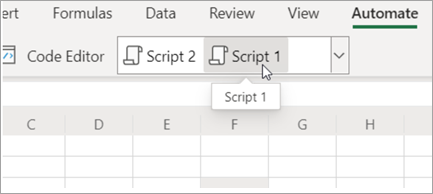 Show's Office scripts