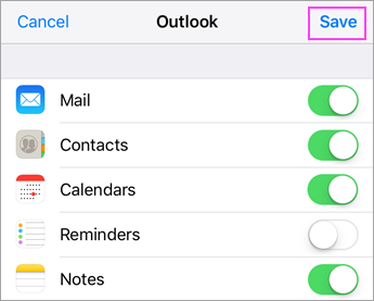 Can T Sync Calendar And Contacts With My Phone Or Tablet Office