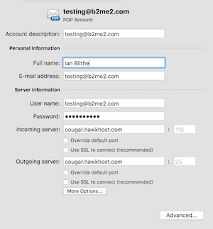 Basic POP account settings in Outlook for Mac - Outlook for Mac