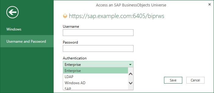 Access SAP
