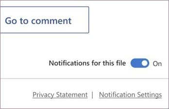 Turn on or off notifications