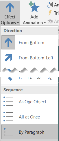 Click Effect Options