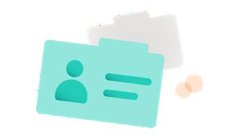 Illustration of folders