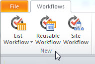 New workflow