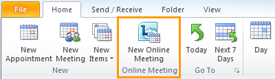 lync online meeting button missing in outlook 2007 About lync online meeting plug-in for outlook \microsoft lync\ocofficedll online meeting add-in for microsoft lync 2010 usually located at c:.