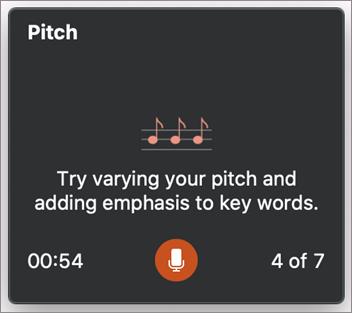 Suggestion for pitch