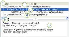 Groove Discussion Tool features
