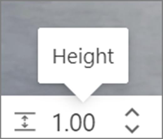 Height UI
