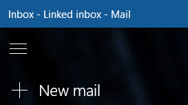 Choose New mail to compose a new message