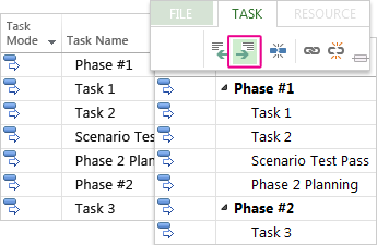basic tasks in project project