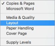 print both sides word mac