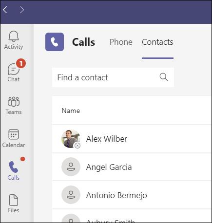 Teams-Contacts button-435