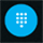 Display the phone dial pad during a call