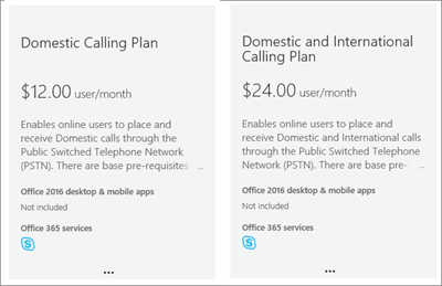 After you buy a Cloud PBX license, you can buy voice calling plans.