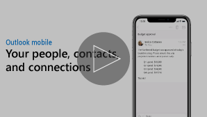 Thumbnail for Learn about contacts video - click to play