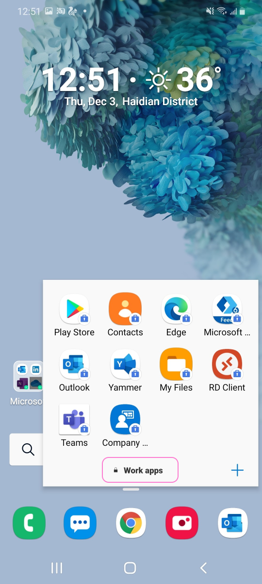 work folder example