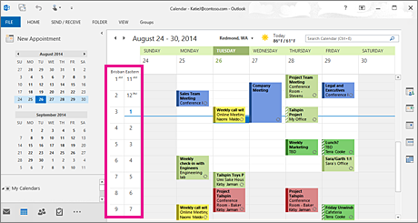 Change How You View Your Outlook Calendar Outlook