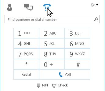 Phone tab
