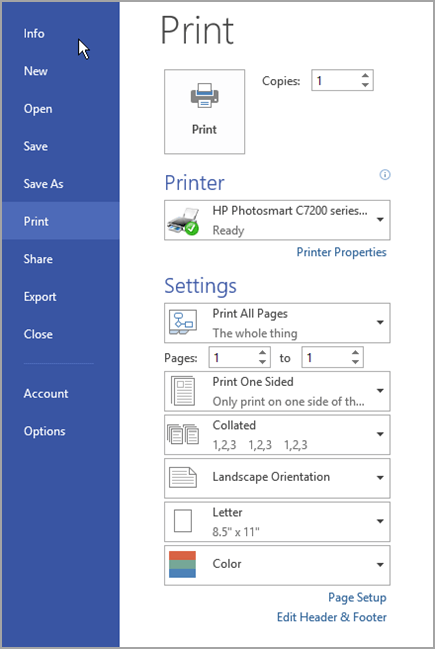 Change The Page Orientation To Portrait Or Landscape In Visio
