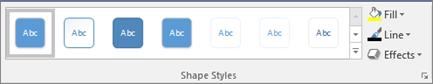 Visio Format Shape