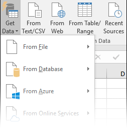 Import data from external data sources (Power Query) - Excel