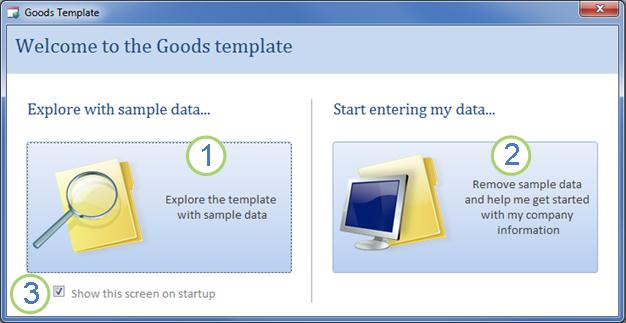 access database templates inventory