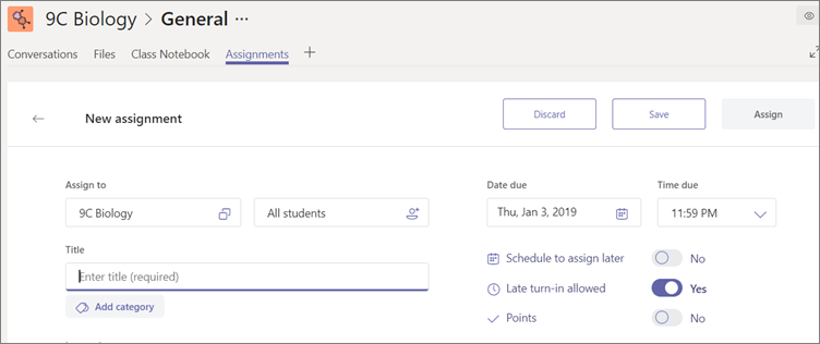Click Save to save a draft of your assignment.