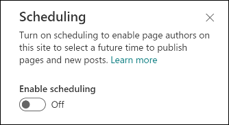 Scheduling-toggle-off