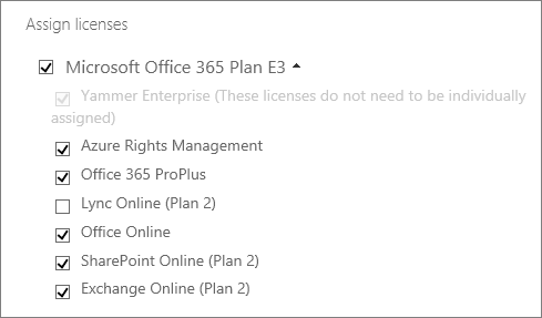 Unselect a service from a license.