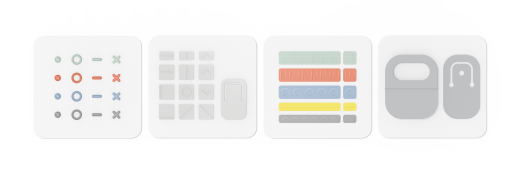 All labels and openers available in the Surface Adaptive Kit.