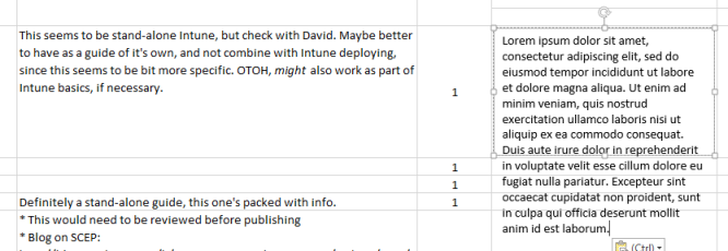 Change line spacing - Excel
