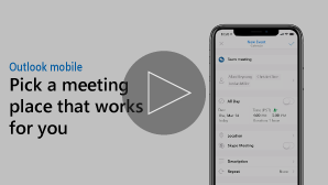 Thumbnail for Meeting location assistant video - click to play