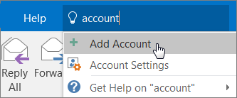 Employee Quick Start: Add Outlook account