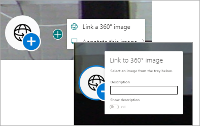 Select a 360 Link menu