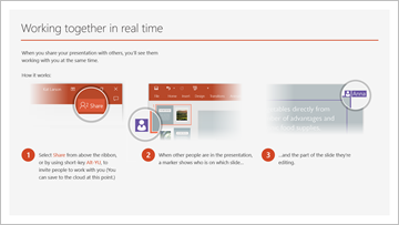 Take a tour of PowerPoint