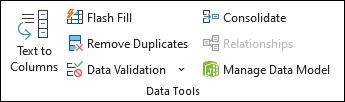 Validación de datos en Microsoft Excel