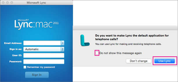 lync for mac update address book