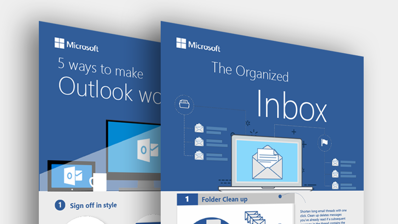 Download these Outlook infographics