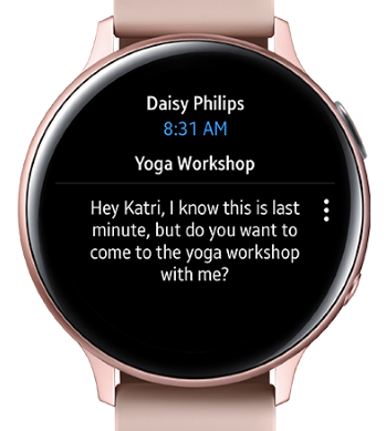 Android Watch Outlook Email Notifications