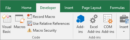 Quick start: Create a macro - Office Support