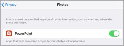 Photo access