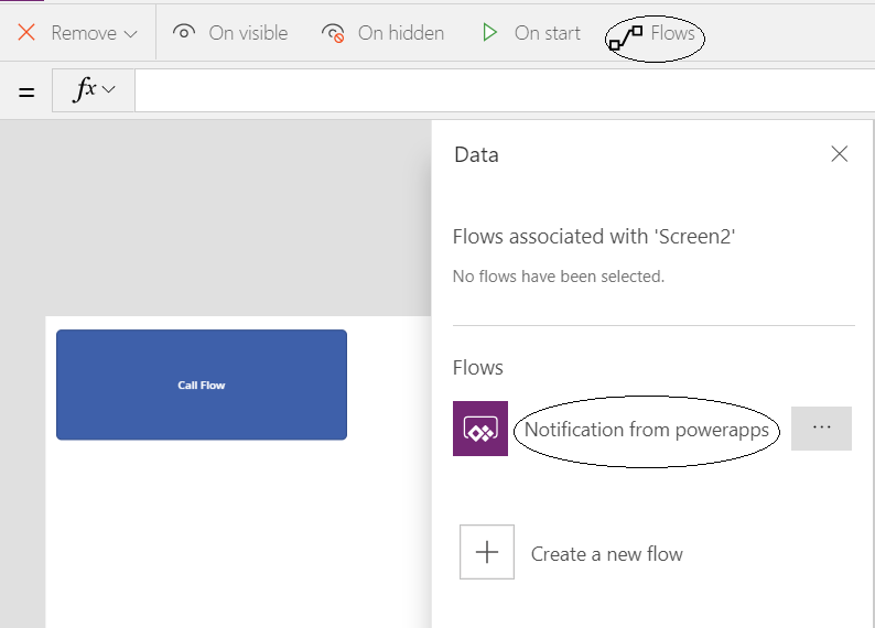 Updating a Flow definition in PowerApps