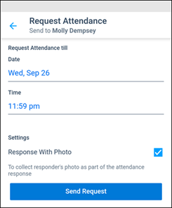 Kaizala Attendance